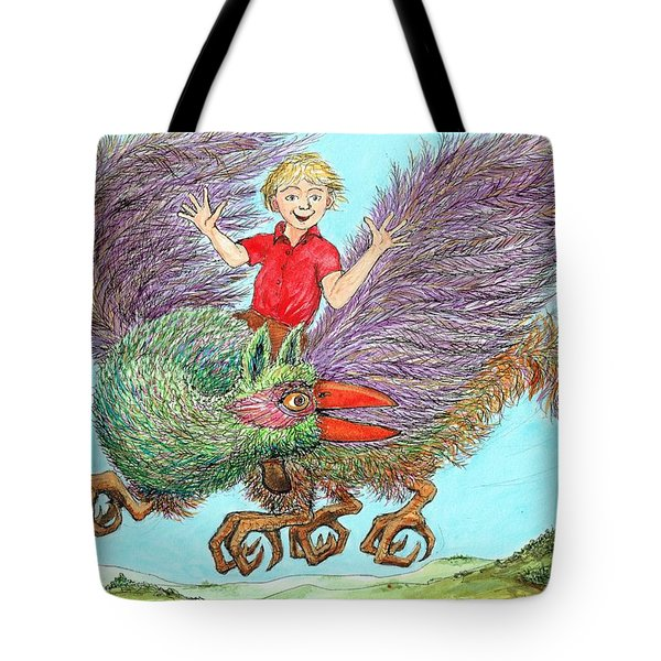P9 Look  No Hands Tote Bag by Charles Cater