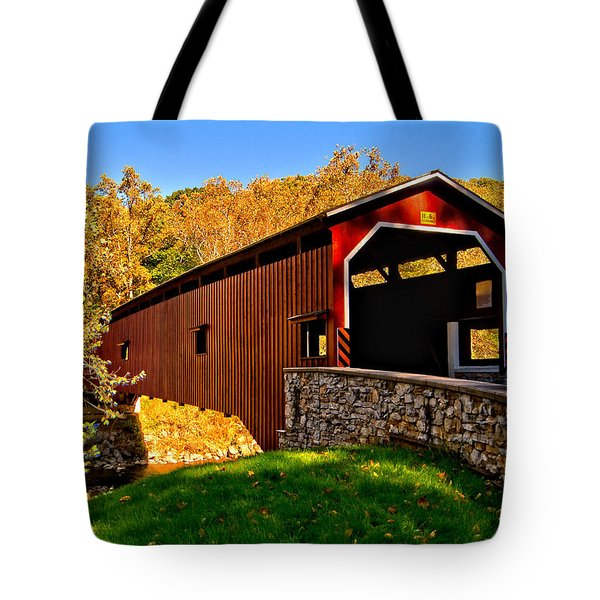 Pa Covered Bridge Tote Bag