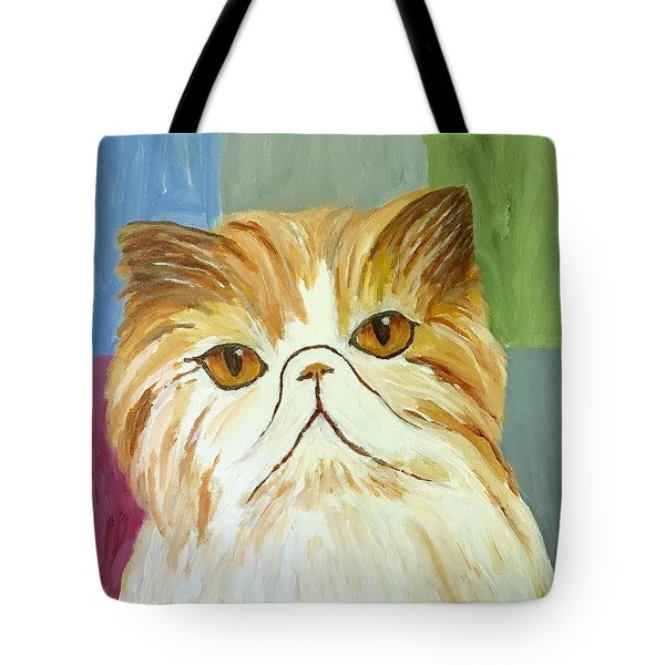 Pablo Tote Bag by Victoria Lakes