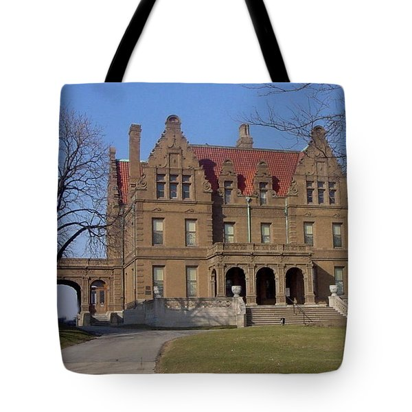 Pabst Mansion Photo Tote Bag by Anita Burgermeister