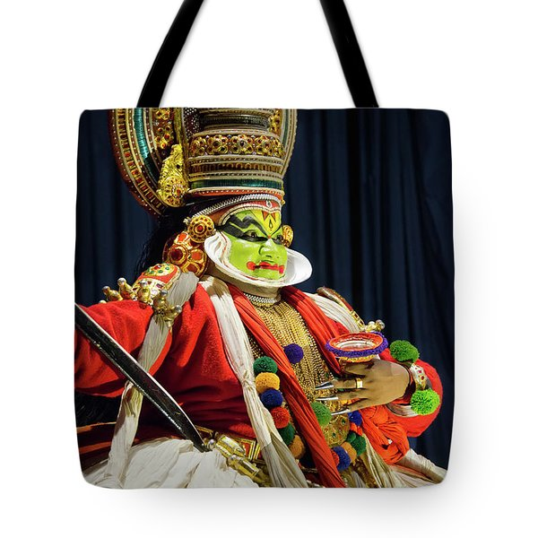 Pacha Vesham Tote Bag by Marion Galt