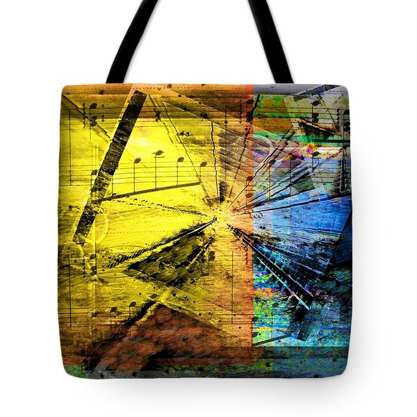 Tote Bag featuring the digital art Pachelbel - Canon In D .. by Art Di