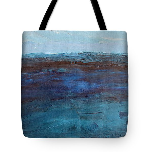 Pacific Blue Tote Bag
