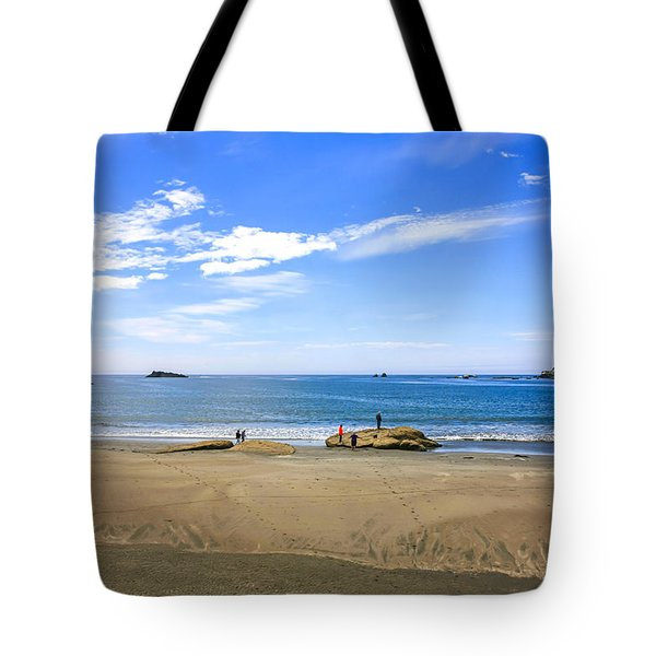 Pacific California Tote Bag by Chris Smith