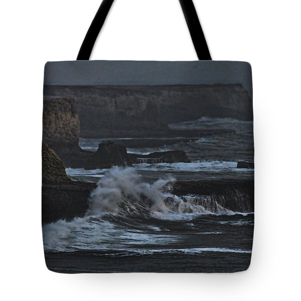 Pacific Cliffs Of Davenport Tote Bag