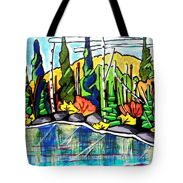 Pacific Coast Forest Tote Bag