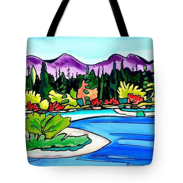 Pacific Coast Tote Bag