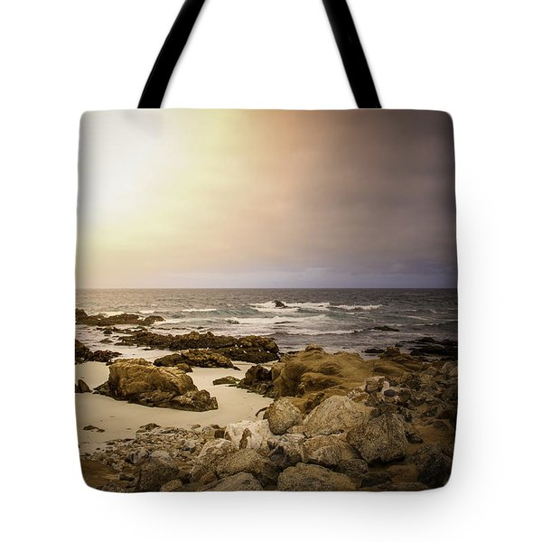Tote Bag featuring the photograph Pacific Coastline by Ryan Photography