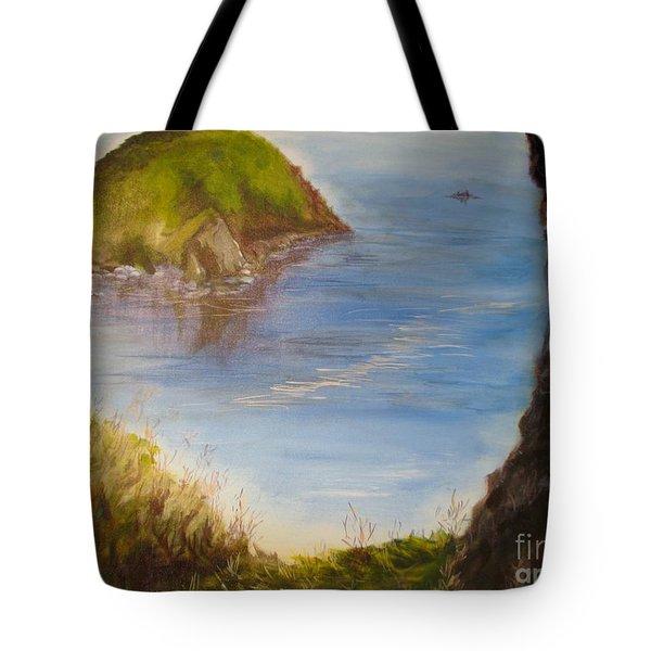 Pacific Cove Tote Bag