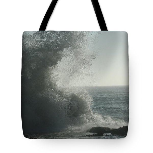 Pacific Crash Tote Bag