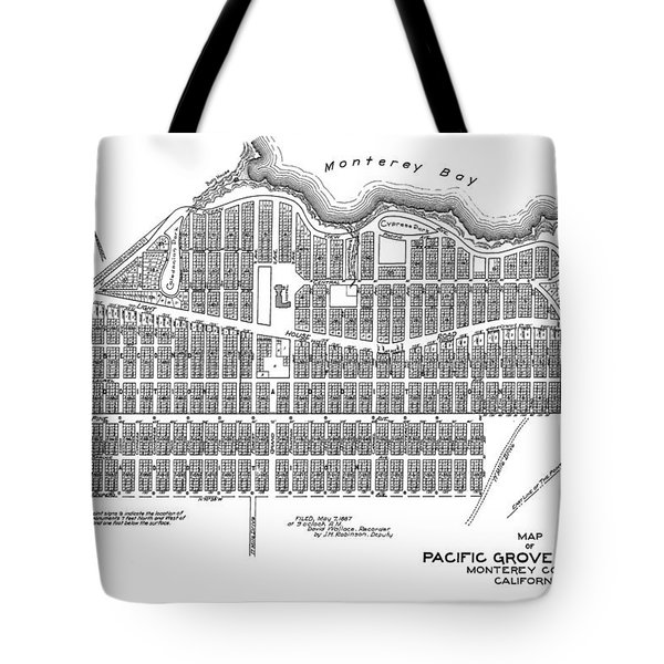 Pacific Grove May 7 1887 Tote Bag