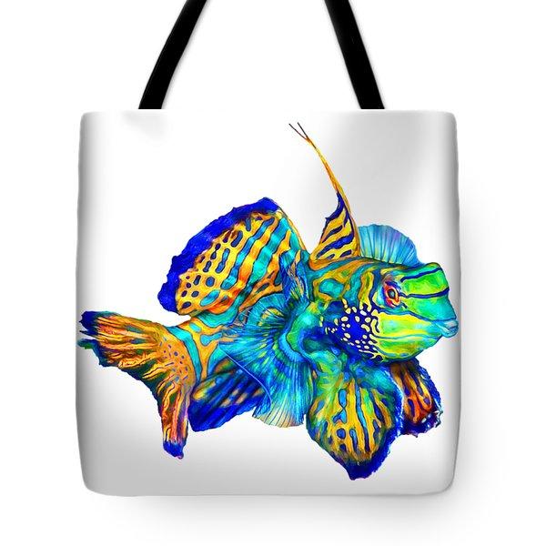 Pacific Mandarinfish Tote Bag