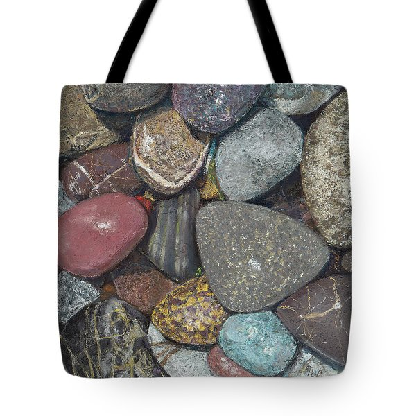 Pacific Nw Beach Rocks Tote Bag