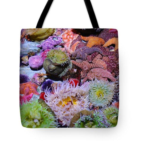 Pacific Ocean Reef Tote Bag