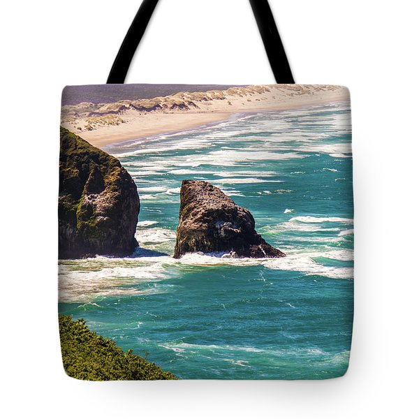 Tote Bag featuring the photograph Pacific Ocean Shore by Jonny D
