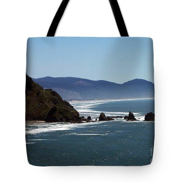 Pacific Ocean View 2 Tote Bag