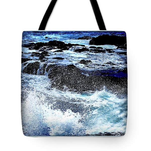 Pacific Palm Shadows Tote Bag
