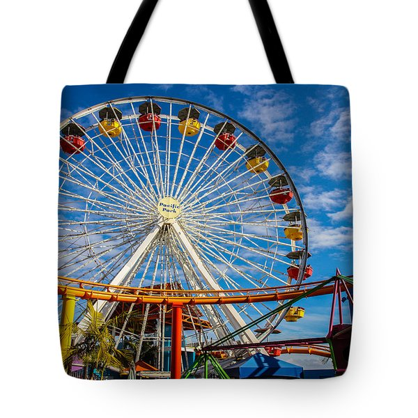 Pacific Park 5 Tote Bag by Robert Hebert