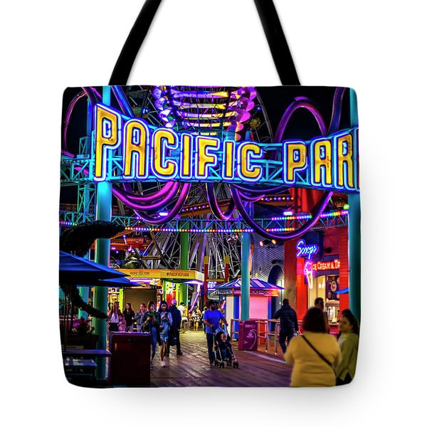 Pacific Park - On The Pier Tote Bag