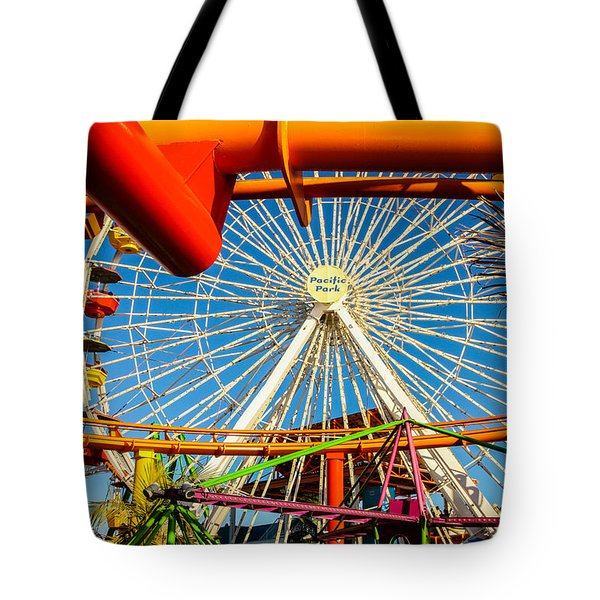 Tote Bag featuring the photograph Pacific Park by Robert Hebert