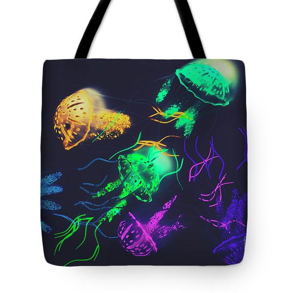 Pacific Pop-art Tote Bag