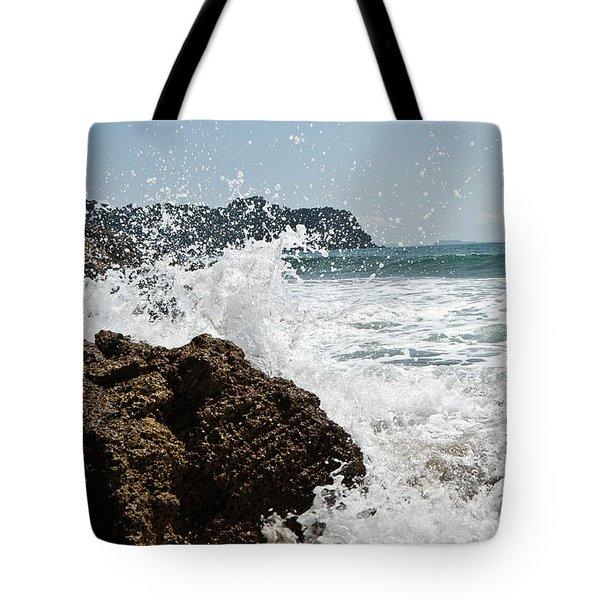 Pacific Splash Tote Bag