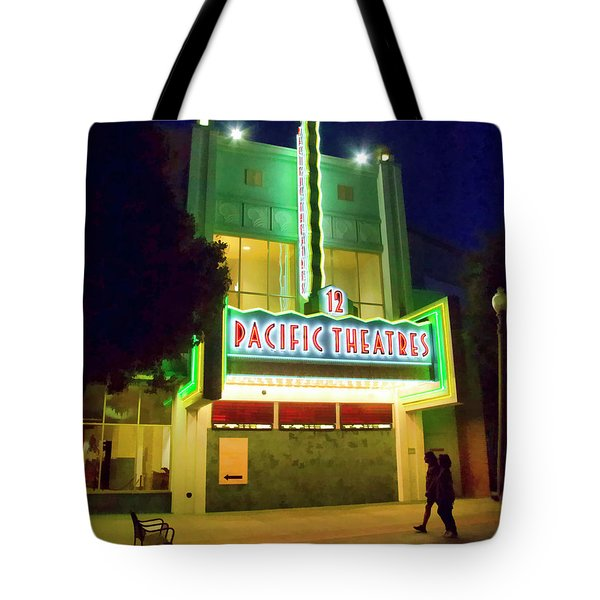 Tote Bag featuring the photograph Pacific Theater - Culver City by Chuck Staley