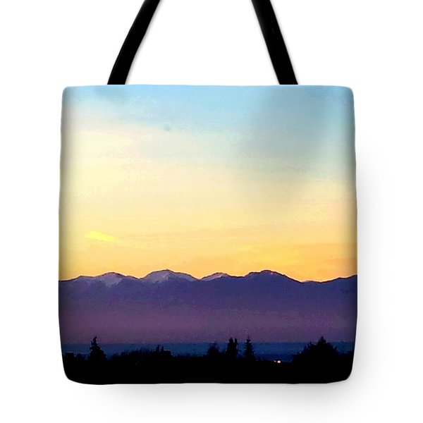 Pacific Twilight Tote Bag