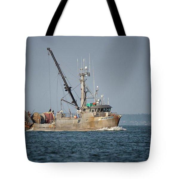 Pacific Viking Tote Bag