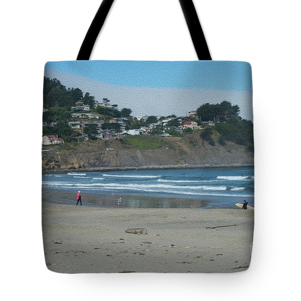 Tote Bag featuring the photograph Pacifica California by David Bearden