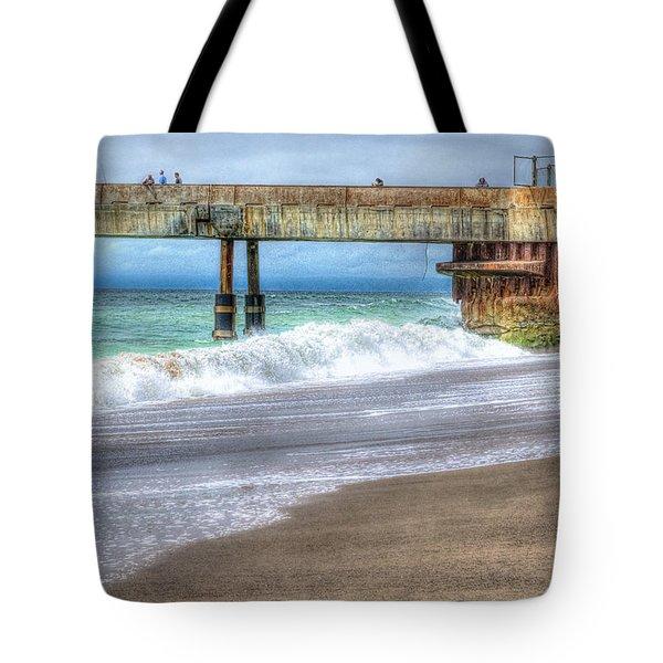 Pacifica Pier  Tote Bag