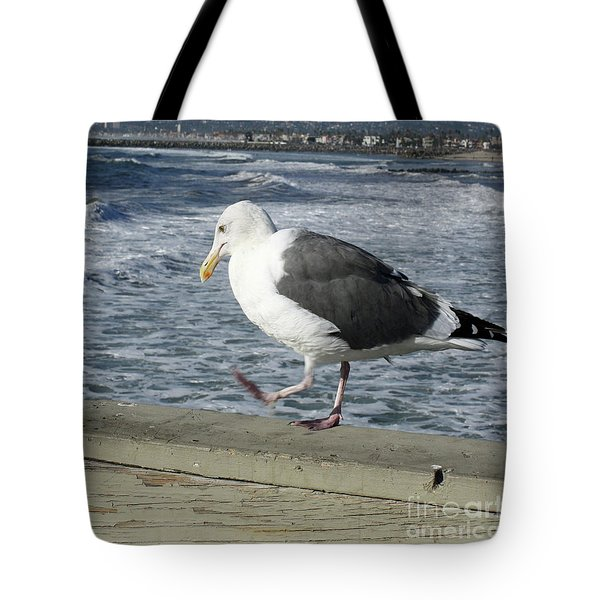 Pacing Tote Bag