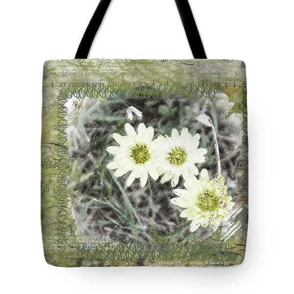 Package Of Three Tote Bag by Nadine Berg