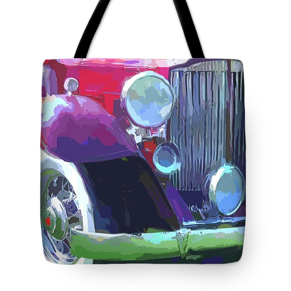 Packard Close Up Pop Tote Bag