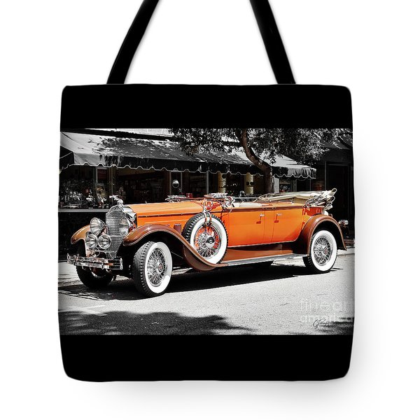 Packard Elegance Tote Bag