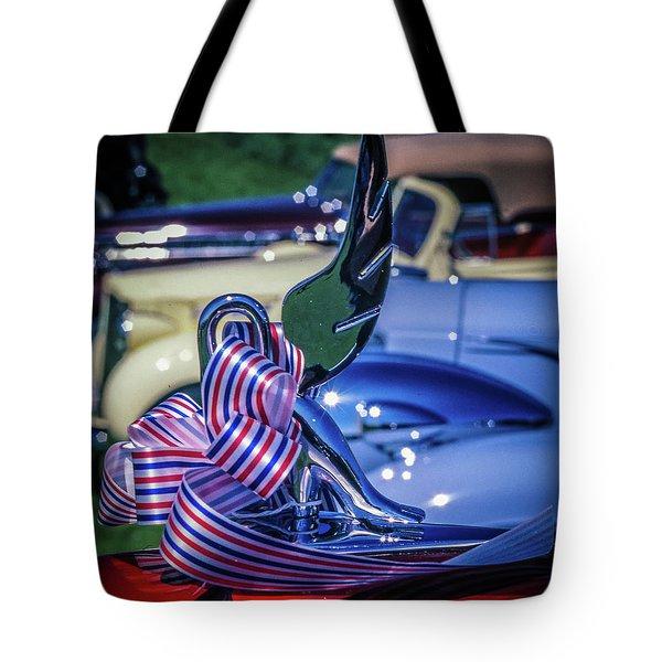 Packard Swan Tote Bag