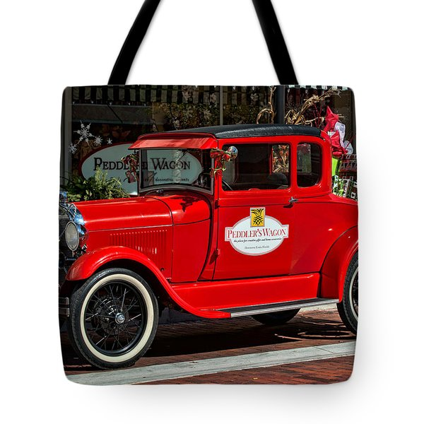 Packed For Christmas Tote Bag by Christopher Holmes
