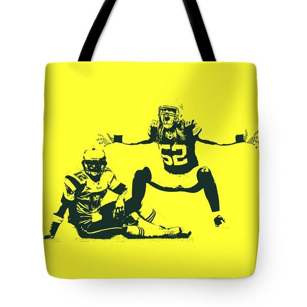 Packers Clay Matthews Sack Tote Bag