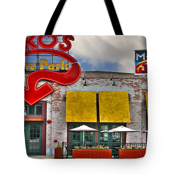 Packo's At The Park Tote Bag