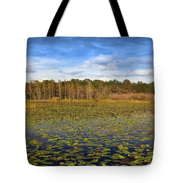 Pad City Tote Bag by Steve Sperry