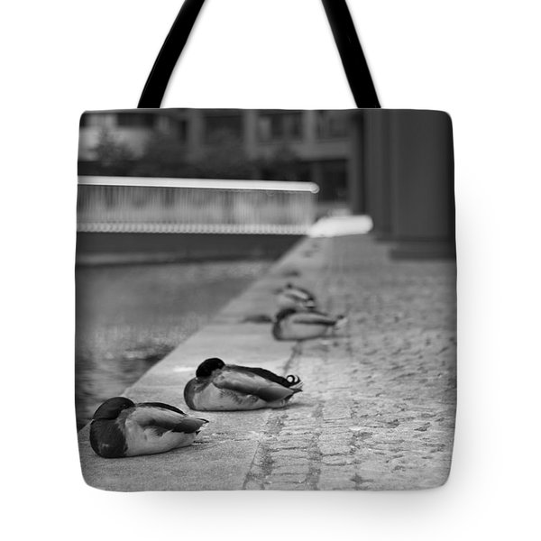 Paddington Ducks Tote Bag