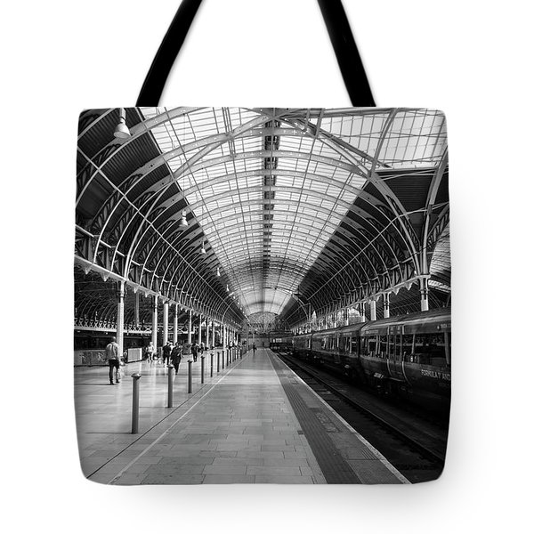 Tote Bag featuring the photograph Paddington Station by Joe Paul