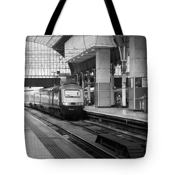 Paddington Station London Tote Bag