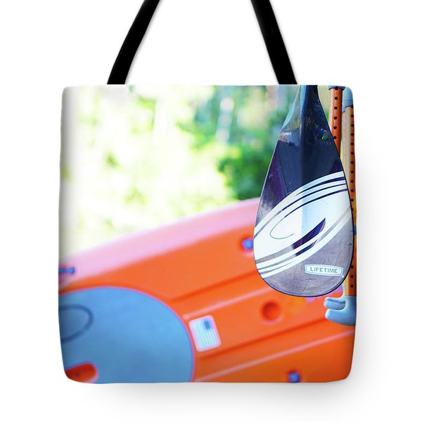 Paddle Tote Bag by Angi Parks