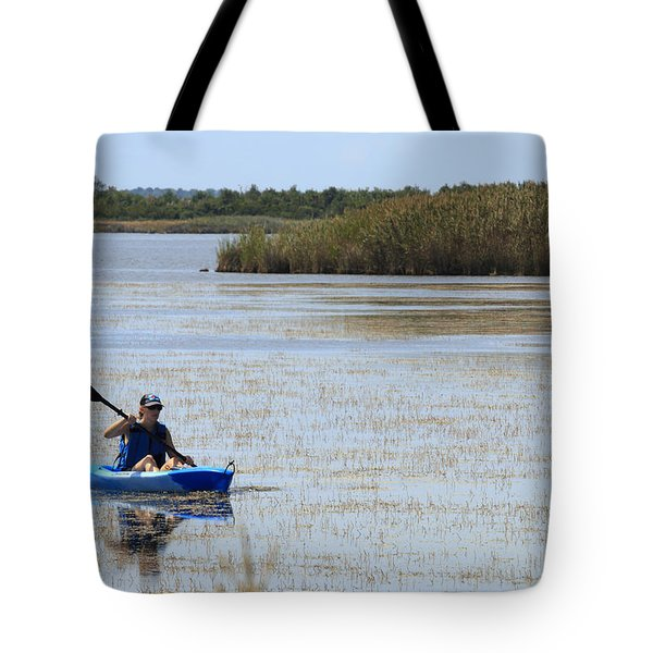 Paddle Away Tote Bag