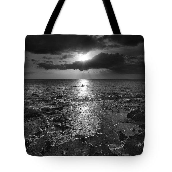 Paddle To The Sun Tote Bag