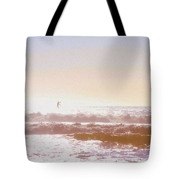 Paddleboarders Tote Bag