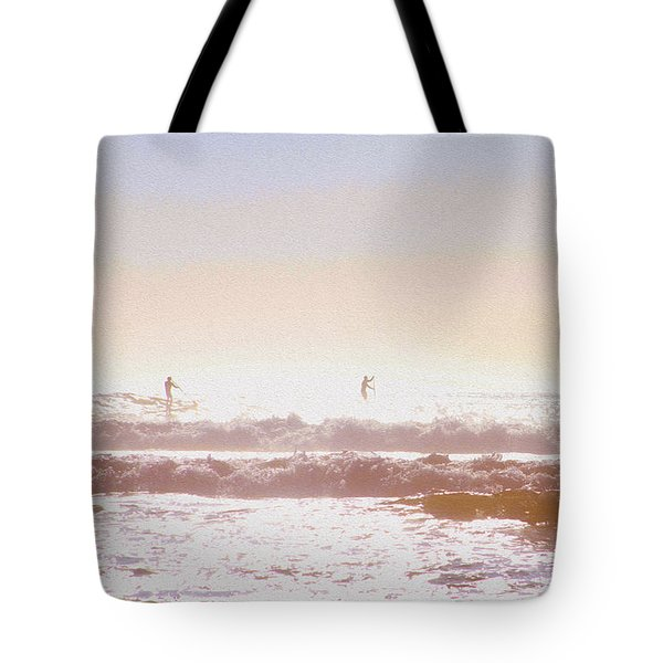 Paddleboarders Tote Bag
