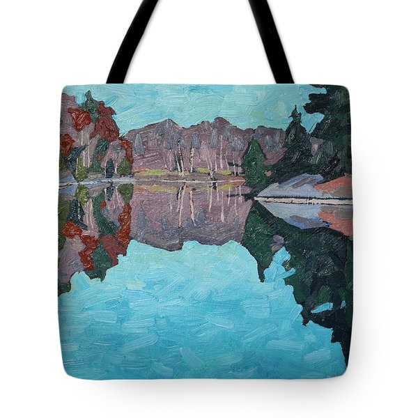 Paddling Home Tote Bag