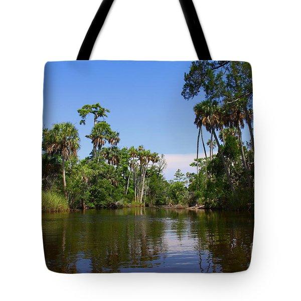 Paddling Otter Creek Tote Bag